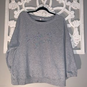 Size med Victoria Secret top with sequins detail